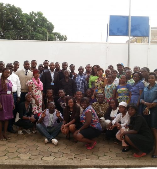 Cameroon WHO Health Agents Training